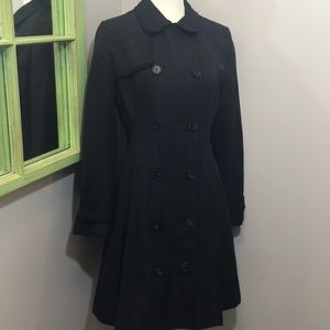 Tory Burch Double Breasted Fallon Trench Coat